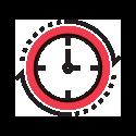ticking clock graphic