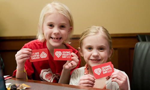 Giving Hearts Day Gift Cards